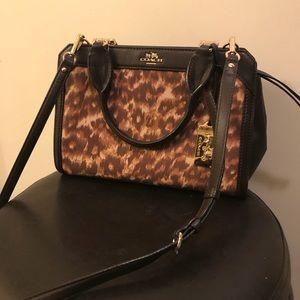 Coach Cheetah Crossbody Bag